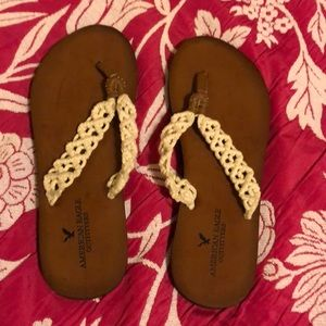 AE women's sandals size 7